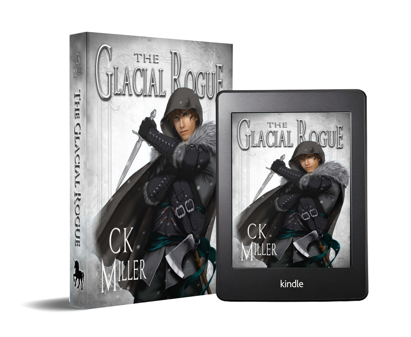The Glacial Rogue Cover Art Coming 2021